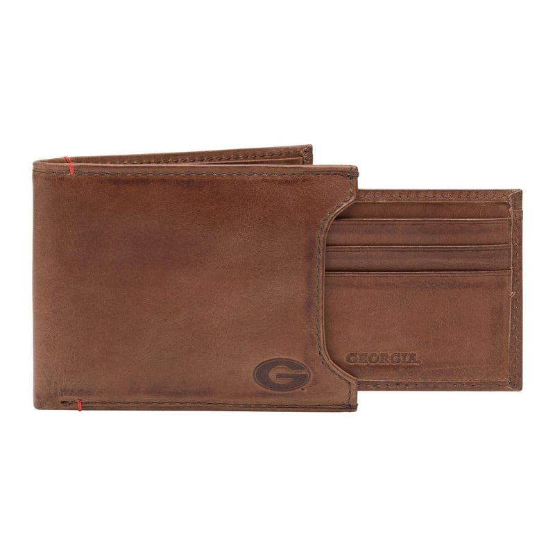 Wallets - Georgia Bulldogs Campus Sliding 2 In 1 By Jack Mason
