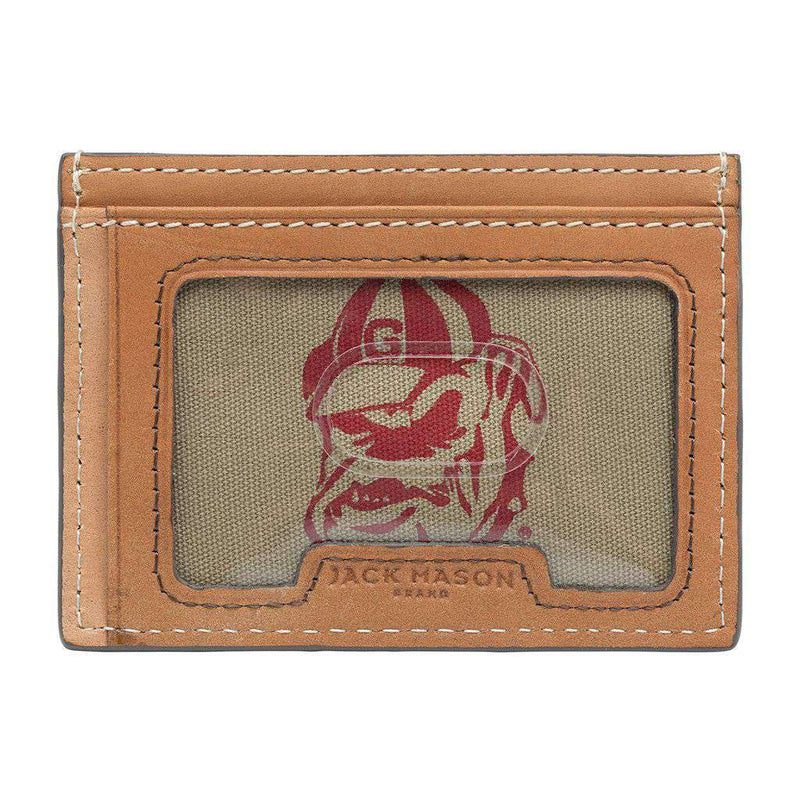 Georgia Bulldogs Gameday ID Window Card Case by Jack Mason - FINAL SALE