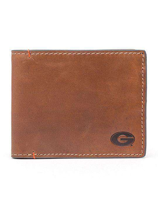 Wallets - Georgia Bulldogs Hangtime Traveler Wallet By Jack Mason
