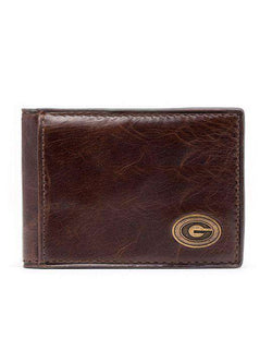 Wallets - Georgia Bulldogs Legacy Flip Bifold Front Pocket Wallet By Jack Mason