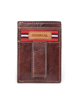 Wallets - Georgia Bulldogs Tailgate Multicard Front Pocket Wallet By Jack Mason