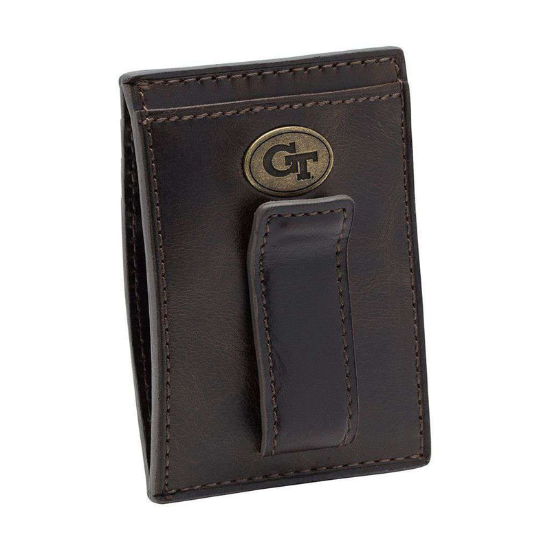 Georgia Tech Yellow Jackets Legacy Multicard Front Pocket Wallet by Jack Mason - FINAL SALE