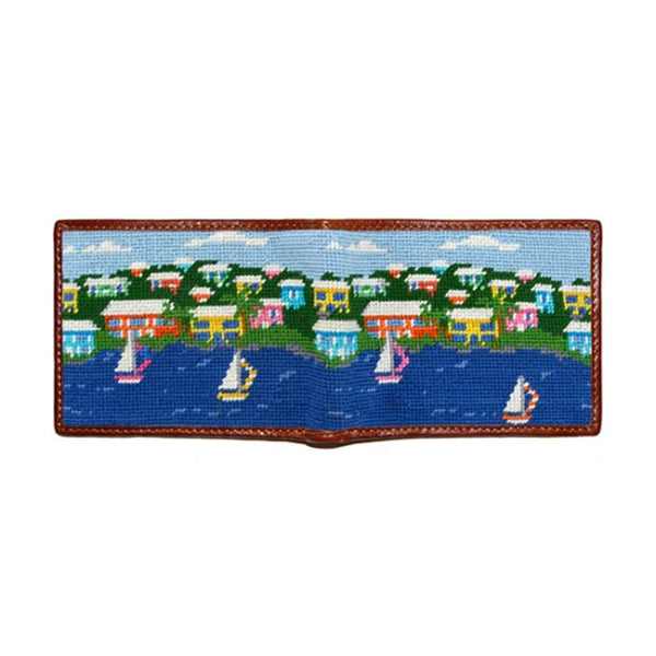 Wallets - Island Time Needlepoint Wallet By Smathers & Branson