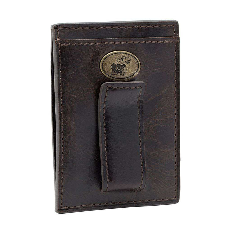 Kansas Jayhawks Legacy Multicard Front Pocket Wallet by Jack Mason - FINAL SALE