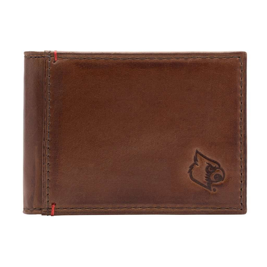 Wallets - Louisville Cardinals Campus Flip Bifold Front Pocket Wallet By Jack Mason