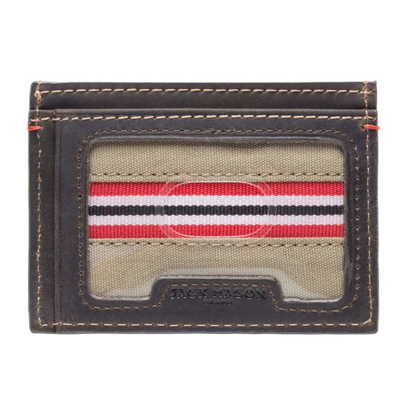 Wallets - Louisville Cardinals Hangtime ID Window Card Case By Jack Mason