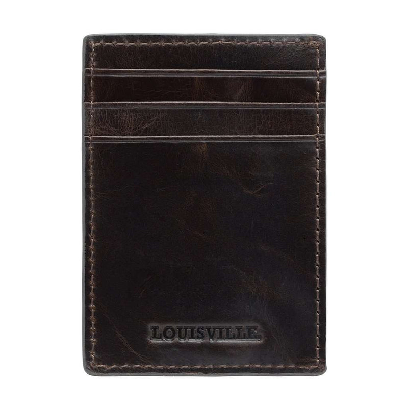 Louisville Cardinals Legacy Multicard Front Pocket Wallet by Jack Mason - FINAL SALE