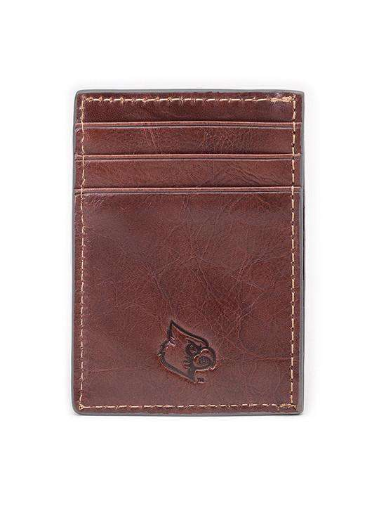 Wallets - Louisville Cardinals Tailgate Multicard Front Pocket Wallet By Jack Mason