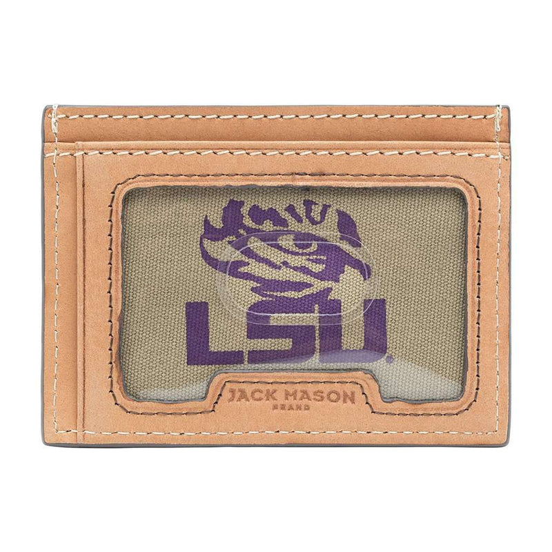 LSU Tigers Gameday ID Window Card Case by Jack Mason - FINAL SALE