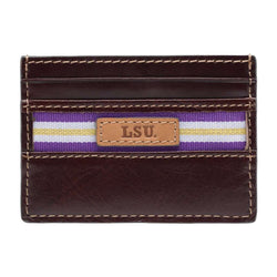 Wallets - LSU Tigers Tailgate ID Window Card Case By Jack Mason