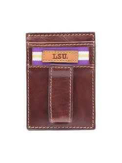 Wallets - LSU Tigers Tailgate Multicard Front Pocket Wallet By Jack Mason