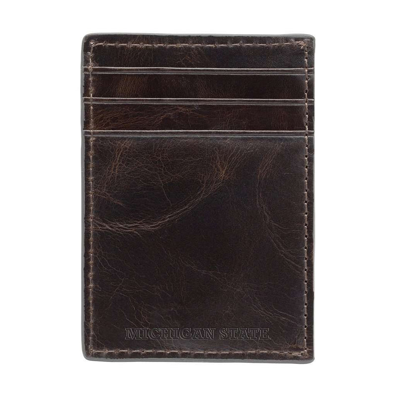 Michigan State Spartans Legacy Multicard Front Pocket Wallet by Jack Mason - FINAL SALE