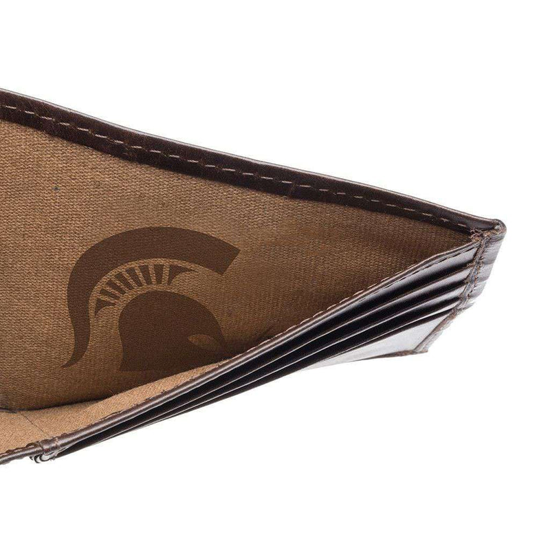 Wallets - Michigan State Spartans Legacy Traveler Wallet By Jack Mason