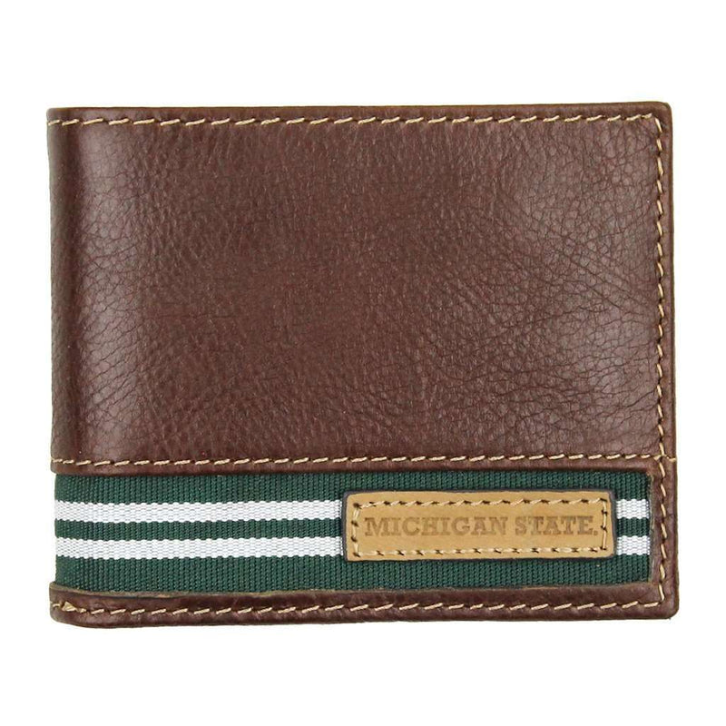 Wallets - Michigan State Spartans Tailgate Traveler Wallet By Jack Mason