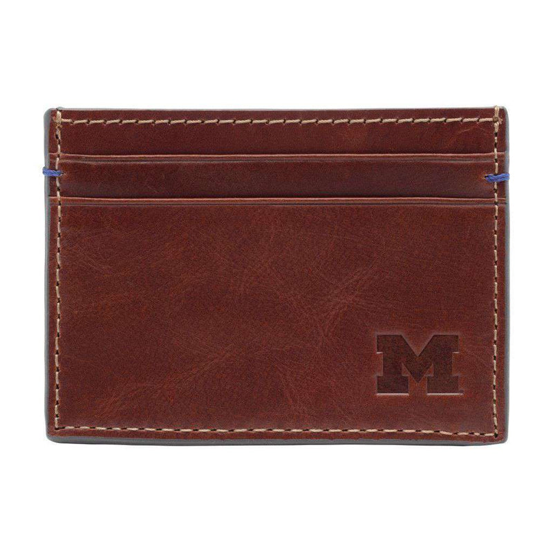 Wallets - Michigan Wolverines Hangtime ID Window Card Case By Jack Mason
