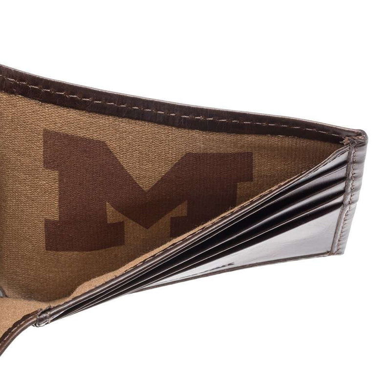 Michigan Wolverines Legacy Traveler Wallet by Jack Mason - FINAL SALE