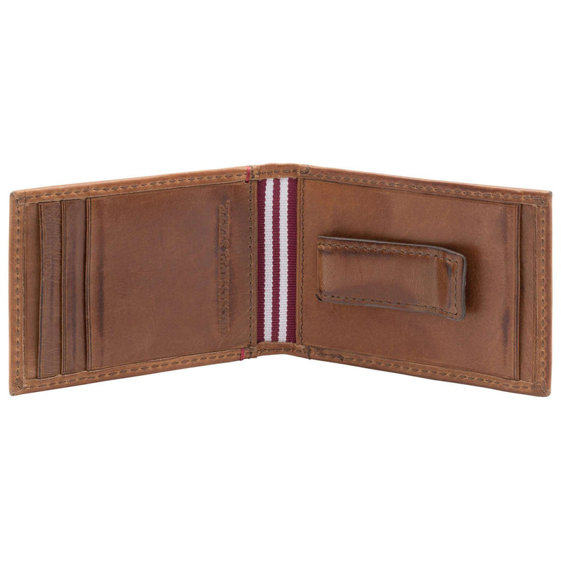 Mississippi State Bulldogs Campus Flip Bifold Front Pocket Wallet by Jack Mason - FINAL SALE