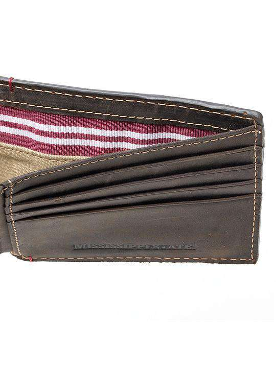 Mississippi State Bulldogs Hangtime Traveler Wallet by Jack Mason - FINAL SALE
