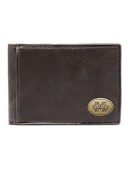 Wallets - Mississippi State Bulldogs Legacy Flip Bifold Front Pocket Wallet By Jack Mason