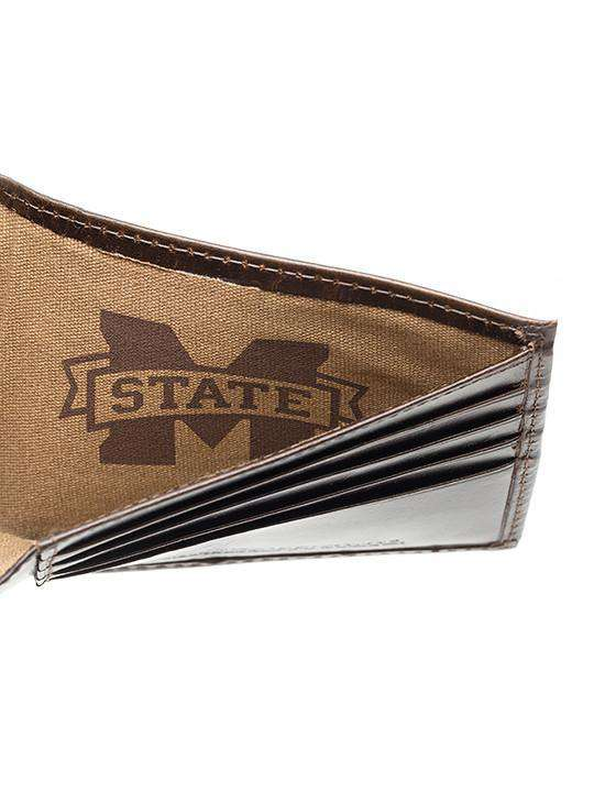 Wallets - Mississippi State Bulldogs Legacy Traveler Wallet By Jack Mason