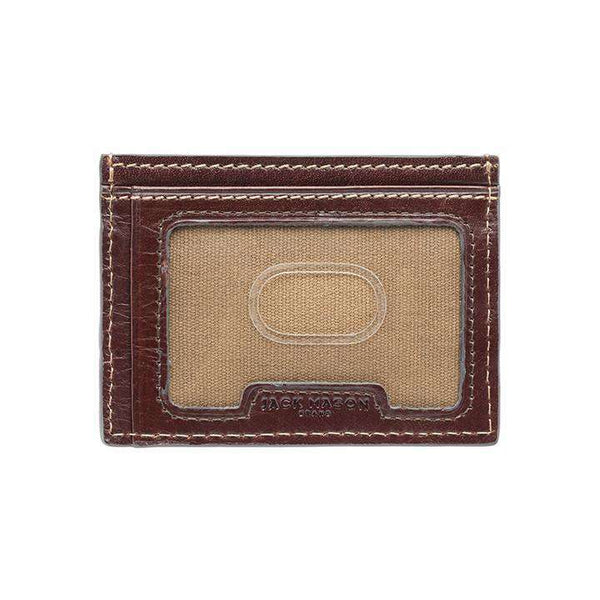 Wallets - Mississippi State Bulldogs Tailgate ID Window Card Case By Jack Mason