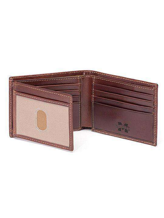 Wallets - Mississippi State Bulldogs Tailgate Traveler Wallet By Jack Mason
