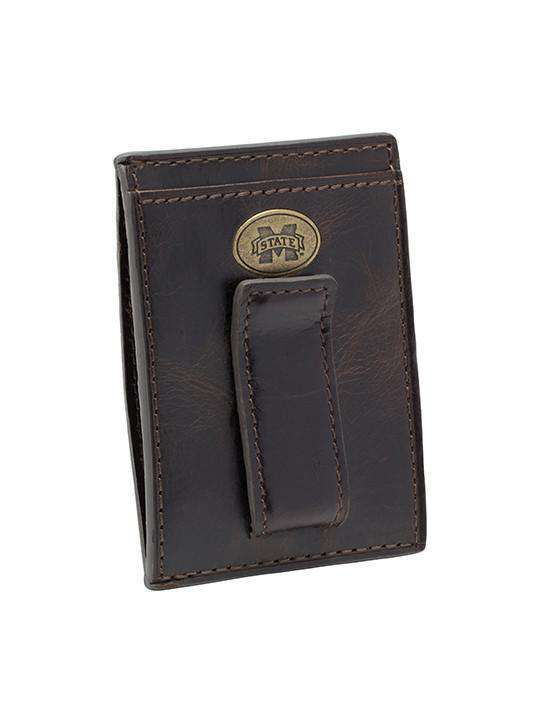 Mississippi State Legacy Multicard Front Pocket Wallet by Jack Mason - FINAL SALE