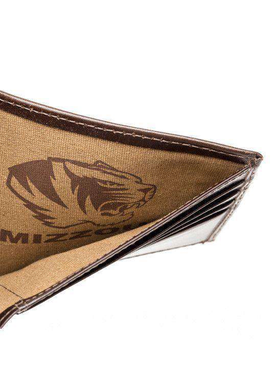 Wallets - Missouri Tigers Legacy Traveler Wallet By Jack Mason
