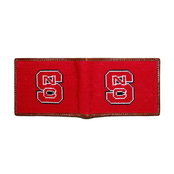 Wallets - NC State Needlepoint Wallet By Smathers & Branson
