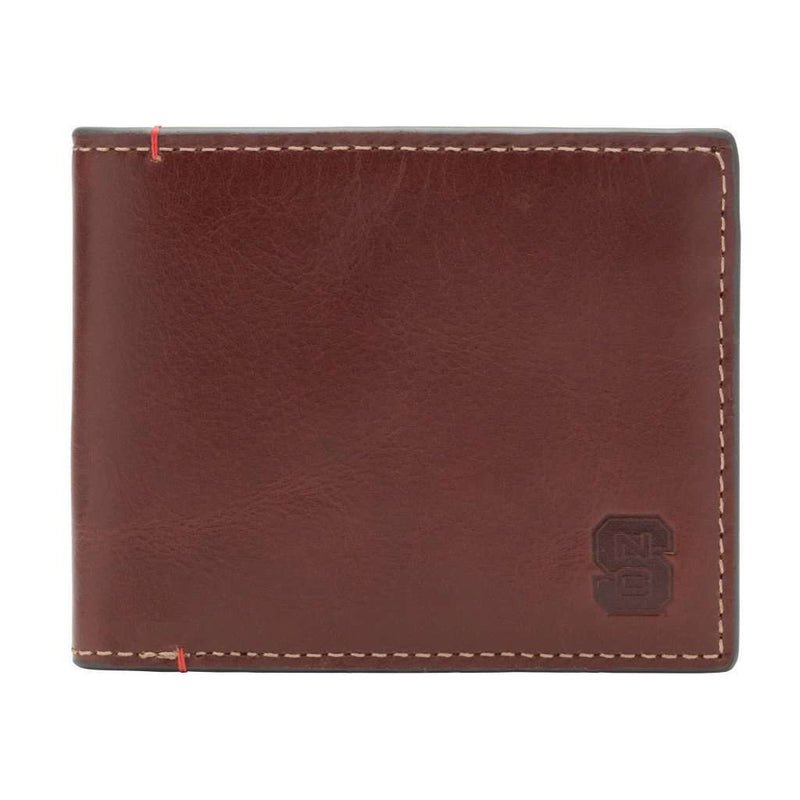 Wallets - NC State Wolfpack Hangtime Slim Bifold Wallet By Jack Mason