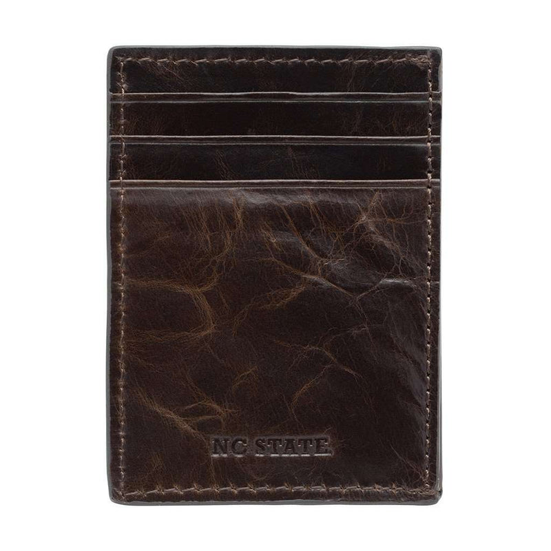 North Carolina State Wolfpack Legacy Multicard Front Pocket Wallet by Jack Mason - FINAL SALE