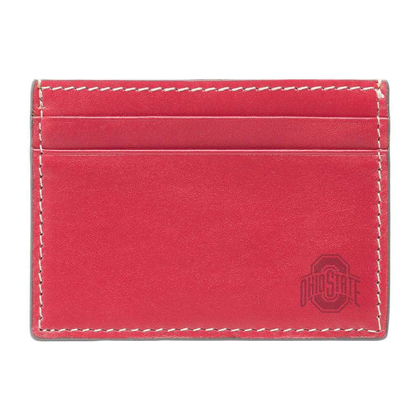 Wallets - Ohio State Buckeyes Gameday ID Window Card Case By Jack Mason
