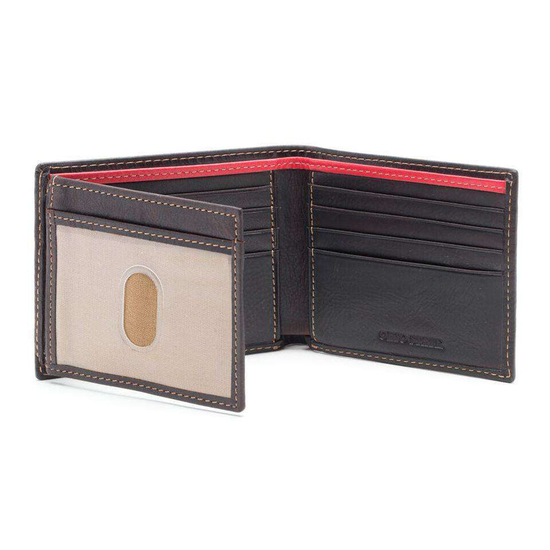 Wallets - Ohio State Buckeyes Gridiron Traveler Wallet By Jack Mason
