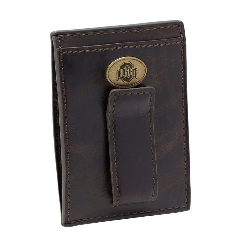 Ohio State Buckeyes Legacy Multicard Front Pocket Wallet by Jack Mason - FINAL SALE
