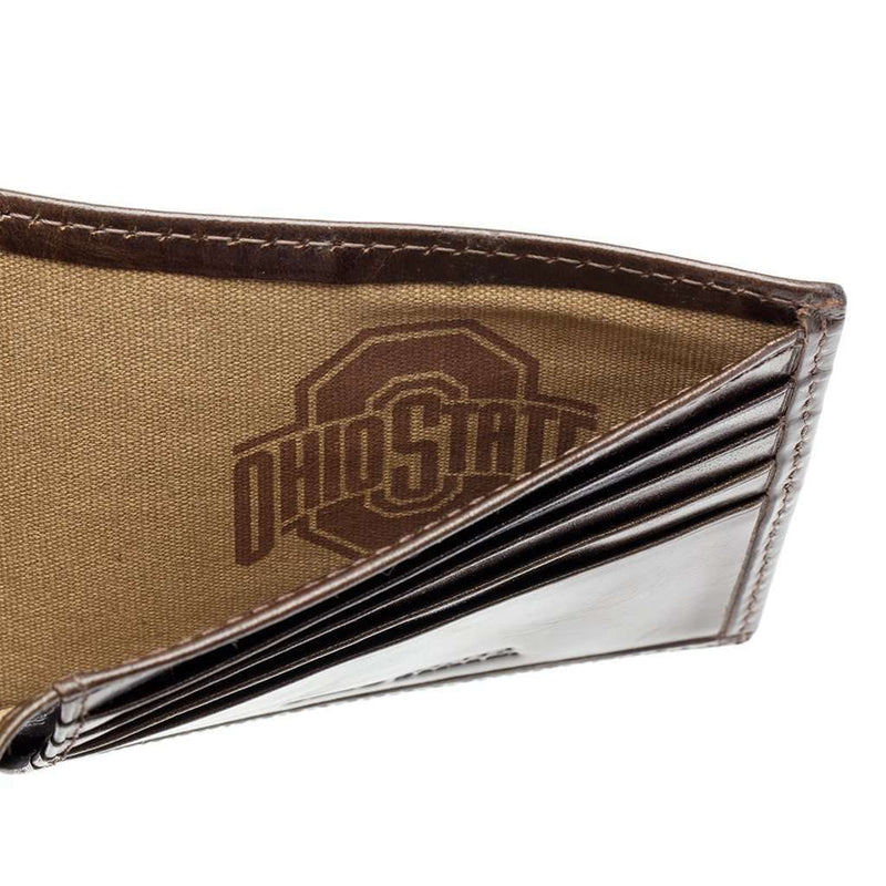 Ohio State Buckeyes Legacy Traveler Wallet by Jack Mason - FINAL SALE