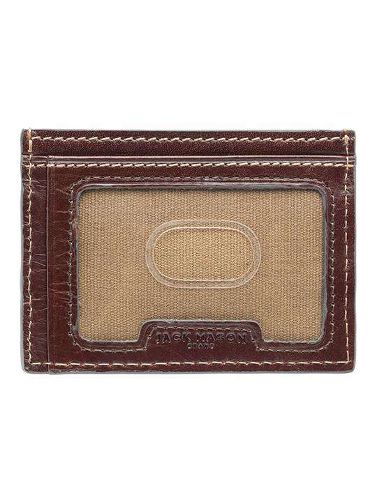 Wallets - Ohio State Tailgate ID Window Card Case By Jack Mason