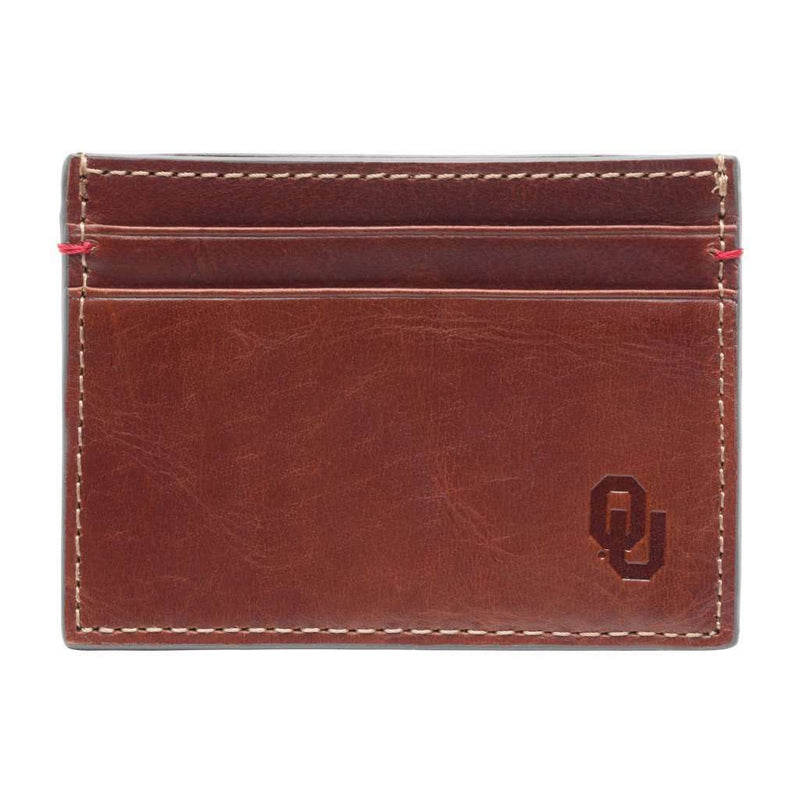 Wallets - Oklahoma Sooners Hangtime ID Window Card Case By Jack Mason