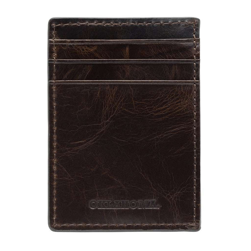Wallets - Oklahoma Sooners Legacy Multicard Front Pocket Wallet By Jack Mason