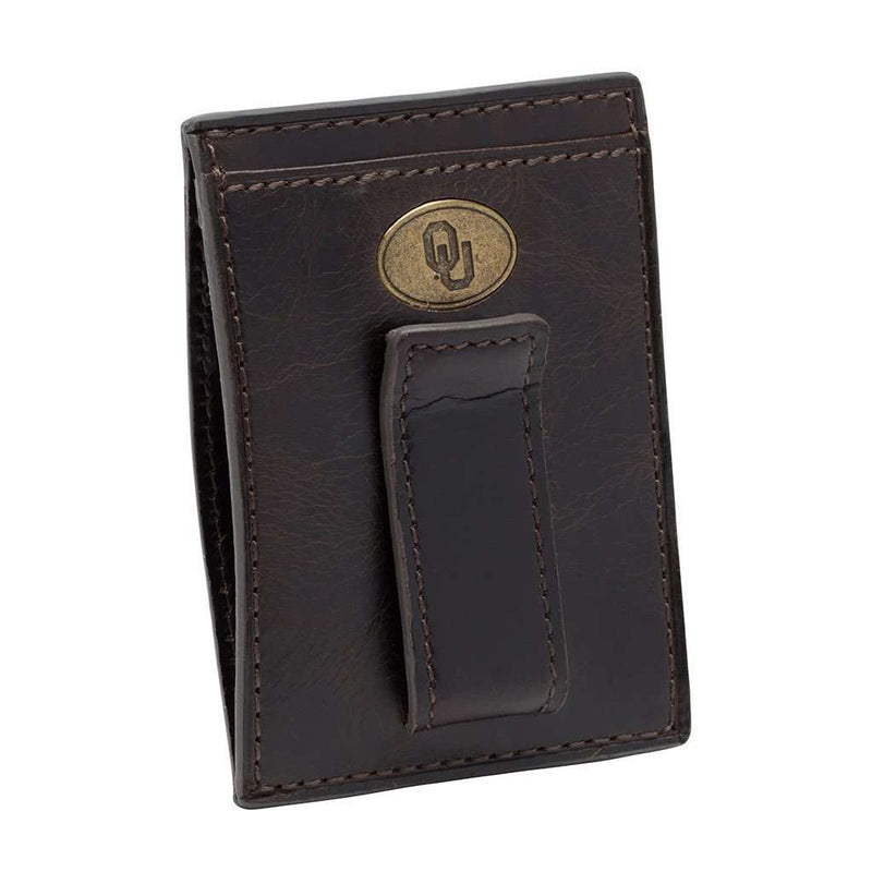 Oklahoma Sooners Legacy Multicard Front Pocket Wallet by Jack Mason - FINAL SALE