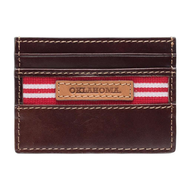 Wallets - Oklahoma Sooners Tailgate ID Window Card Case By Jack Mason