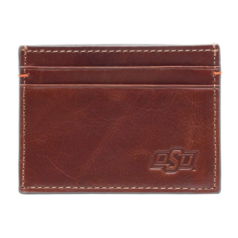 Wallets - Oklahoma State Cowboys Hangtime ID Window Card Case By Jack Mason