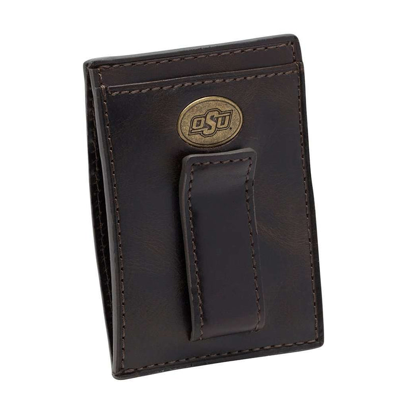 Oklahoma State Cowboys Legacy Multicard Front Pocket Wallet by Jack Mason - FINAL SALE