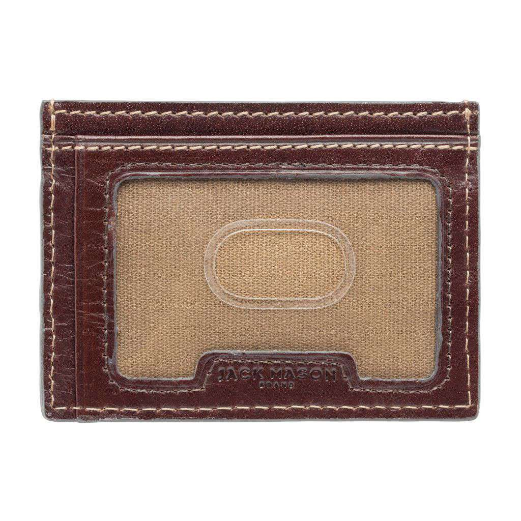 Wallets - Oklahoma State Cowboys Tailgate ID Window Card Case By Jack Mason