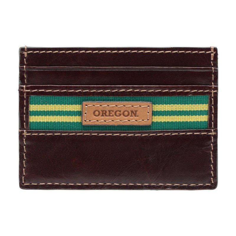 Wallets - Oregon Ducks Tailgate ID Window Card Case By Jack Mason