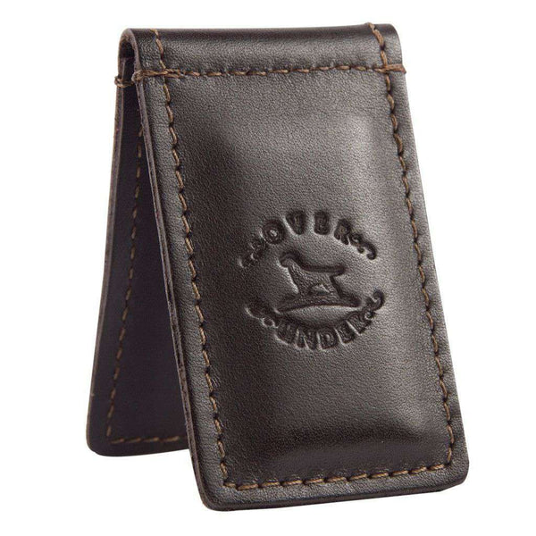 Wallets - Original Logo Money Clip In Leather By Over Under Clothing