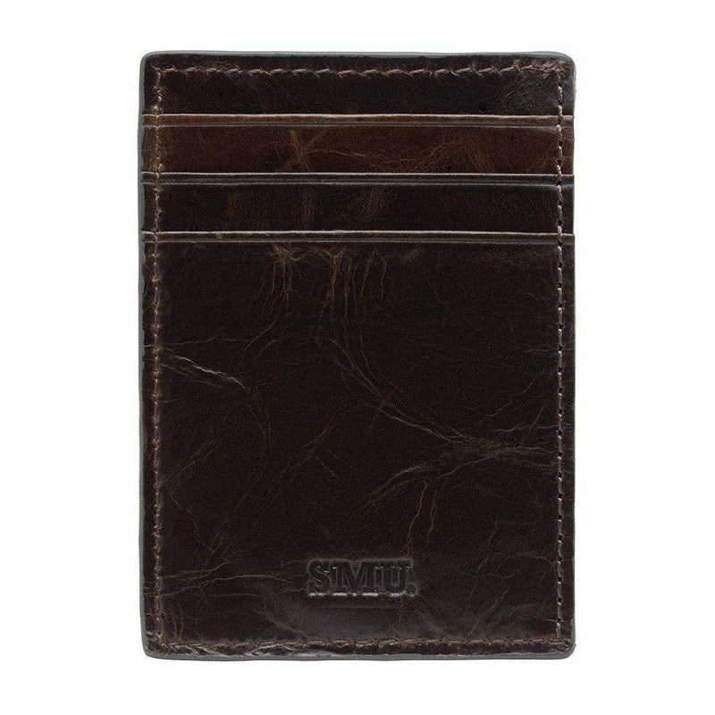 SMU Mustangs Legacy Multicard Front Pocket Wallet by Jack Mason - FINAL SALE