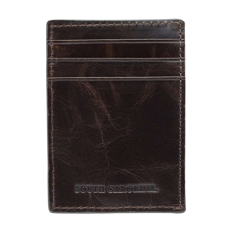 South Carolina Gamecocks Legacy Multicard Front Pocket Wallet by Jack Mason - FINAL SALE