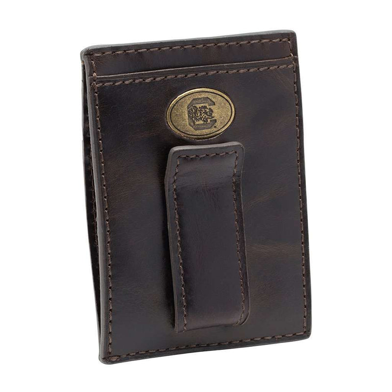 Wallets - South Carolina Gamecocks Legacy Multicard Front Pocket Wallet By Jack Mason