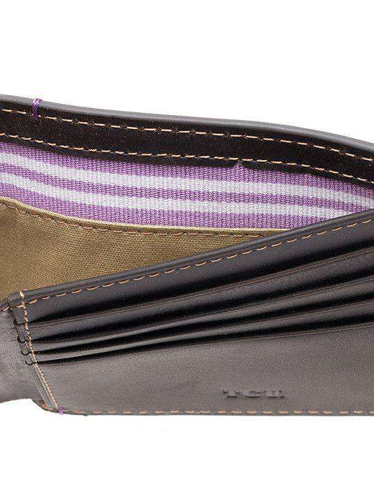 TCU Horned Frogs Hangtime Traveler Wallet by Jack Mason - FINAL SALE