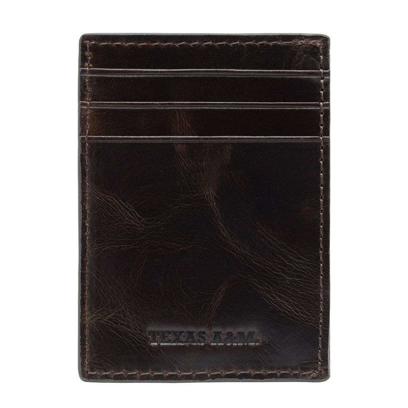 Texas A&M Aggies Legacy Multicard Front Pocket Wallet by Jack Mason - FINAL SALE